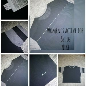 Nike cropped active top